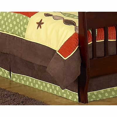 Turtle Toddler Bed Skirt
