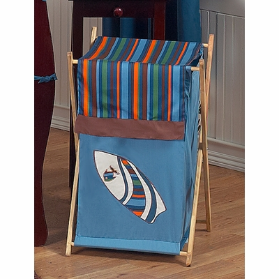 Surf Blue and Brown Hamper