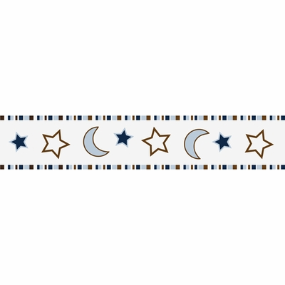 Starry Night Wallpaper Border
