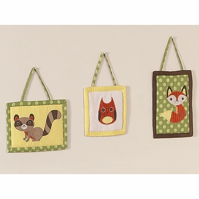 Forest Friends Wall Hangings