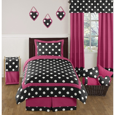 Hot Dot Twin Bedding Collection