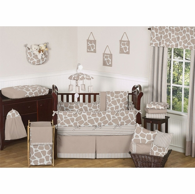 Giraffe Crib Bedding Collection