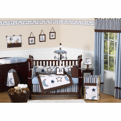 Starry Night Crib Bedding Collection