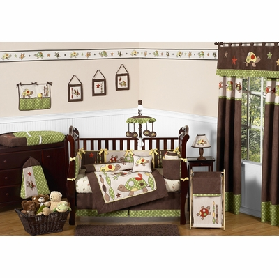 Turtle Crib Bedding Collection