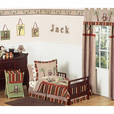 Monkey Toddler Bedding Collection