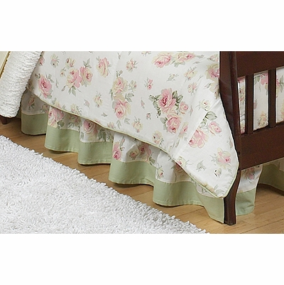 Riley's Roses Toddler Bed Skirt