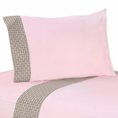 Elephant Pink Twin Sheet Set