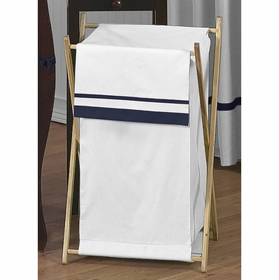 Hotel White and Navy Hamper