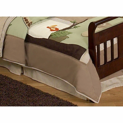 Jungle Adventure Toddler Bed Skirt