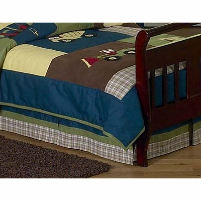 Construction Toddler Bed Skirt