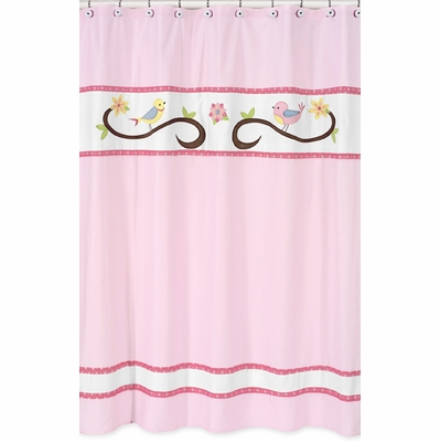 Song Bird Shower Curtain