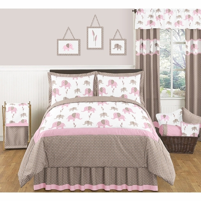 Elephant Pink Full/Queen Bedding Collection