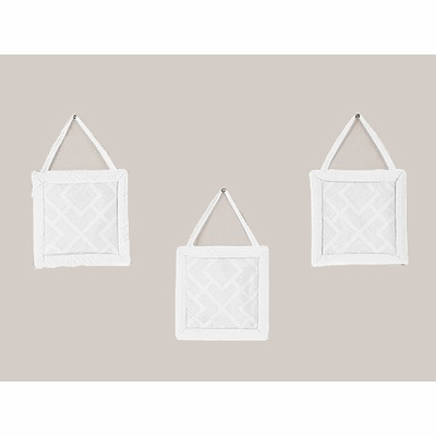 Diamond White Wall Hangings