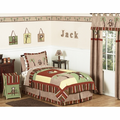 Monkey Full/Queen Bedding Collection