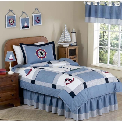 Come Sail Away Twin Bedding Collection