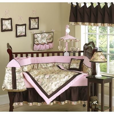 Abby Rose Crib Bedding Collection