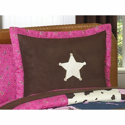 Cowgirl Pillow Sham