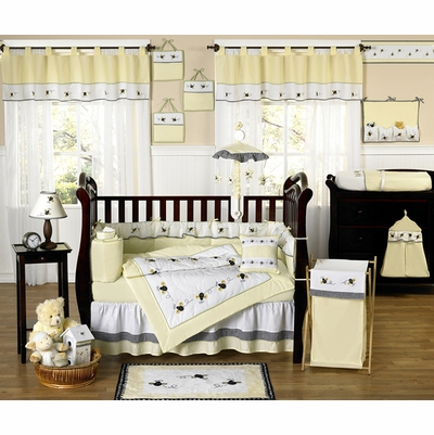 Bumble Bee Crib Bedding Collection
