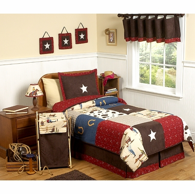 Wild West Cowboy Full/Queen Bedding Collection