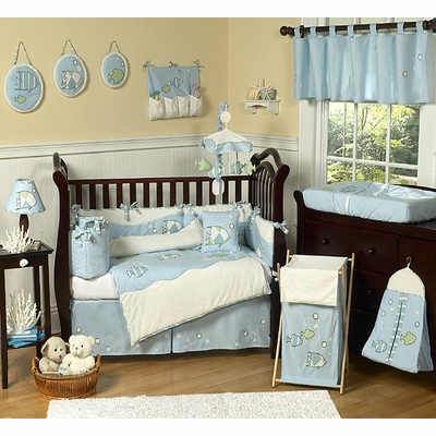 Go Fish Crib Bedding Collection