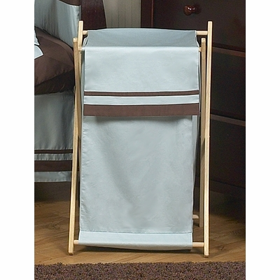 Hotel Blue and Brown Hamper