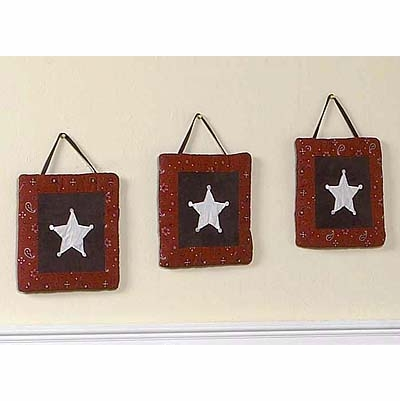 Wild West Cowboy Wall Hangings