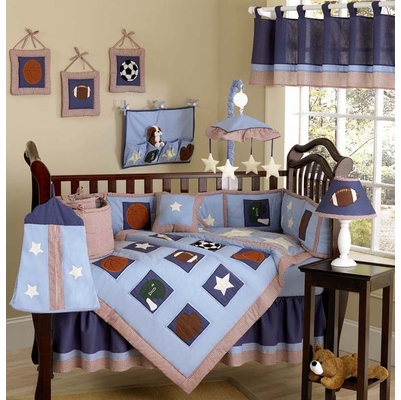 Play Ball Sports Crib Bedding Collection