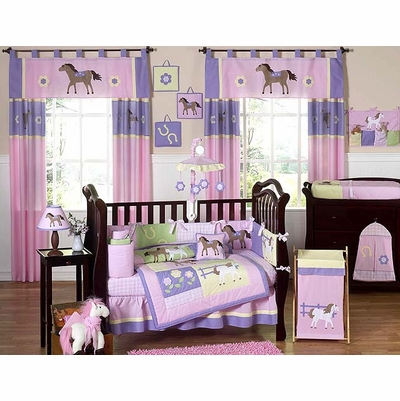 Pony Crib Bedding Collection