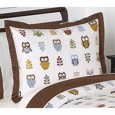 Owl Pillow Sham