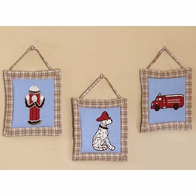 Fire Truck Wall Hangings