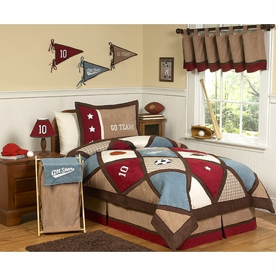 All Star Sports Full/Queen Bedding Collection