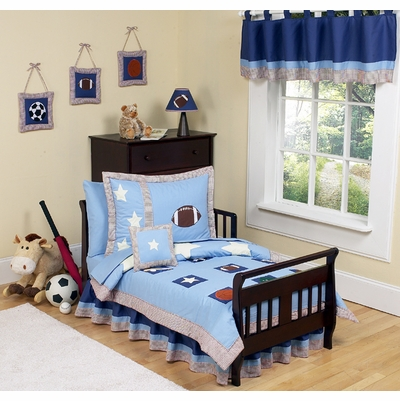 Play Ball Sports Toddler Bedding Collection