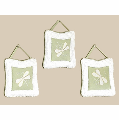 Green Dragonfly Dreams Wall Hangings