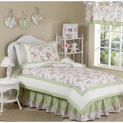 Riley's Roses Twin Bedding Collection