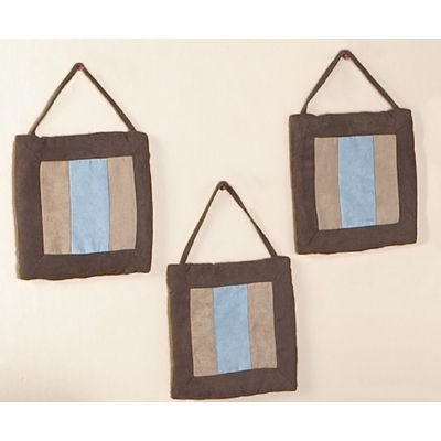 Soho Blue and Brown Wall Hangings