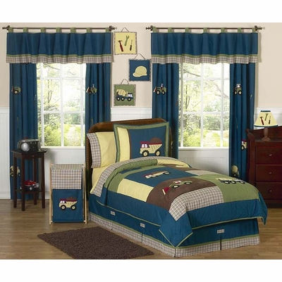 Construction Full/Queen Bedding Collection