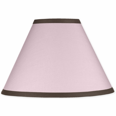 Hotel Pink and Brown Lamp Shade
