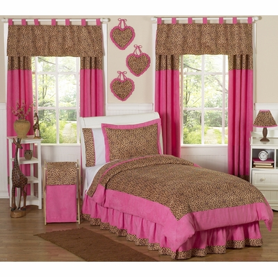 Cheetah Pink Full/Queen Bedding Collection