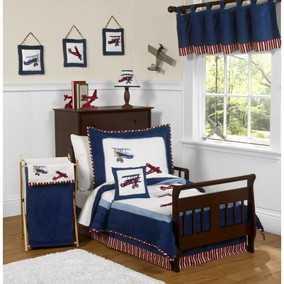 Aviator Toddler Bedding Collection