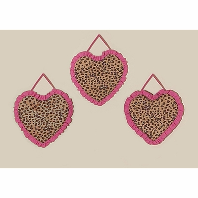 Cheetah Pink Wall Hangings