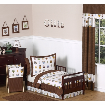 Owl Toddler Bedding Collection