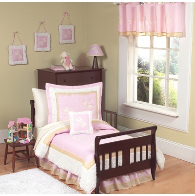 Pink Dragonfly Dreams Toddler Bedding Collection