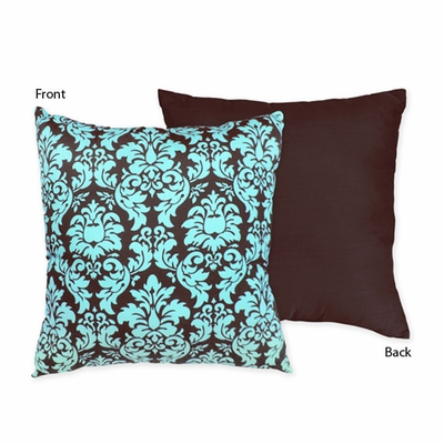 Bella Turquoise Decorative Accent Throw Pillow