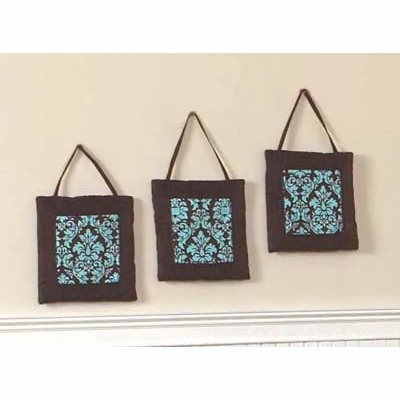 Bella Turquoise Wall Hangings