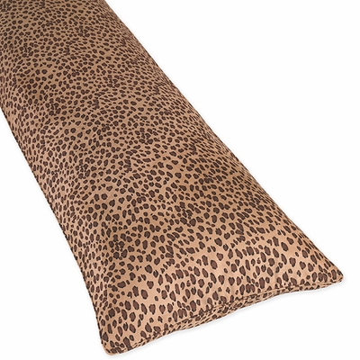 Cheetah Pink Collection Full Length Body Pillow Cover
