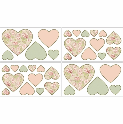 Annabel Wall Decals - Set of 4 Sheets