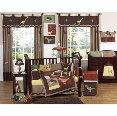 Dinosaur Land 11pc Crib Bedding Collection