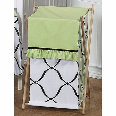 Princess Black, White and Green Collection Hamper