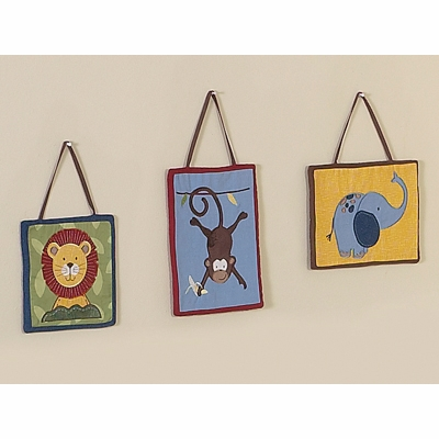 Jungle Time Wall Hangings