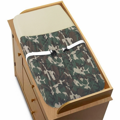 Camo Green Changing Pad Cover